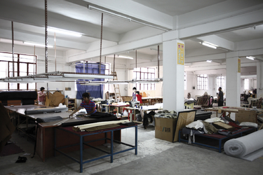 upholstery working shop