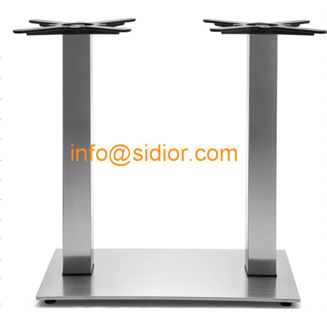 stainless steel table base square dining table leg desk furniture legs sd 735