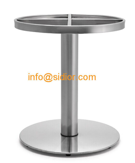 Stainless Steel Table Base. Round Dining Table Leg, Desk Furniture Legs  SD 738