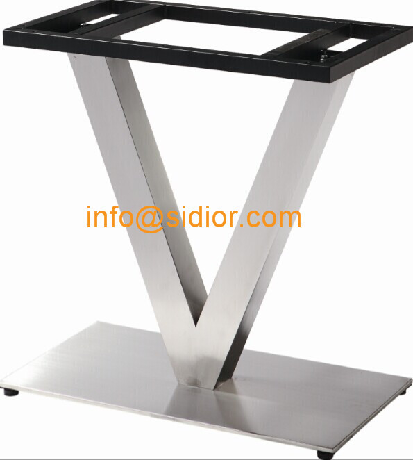 Merveilleux Stainless Steel Table Base. Square Dining Table Leg, Desk Furniture Legs  SD 739