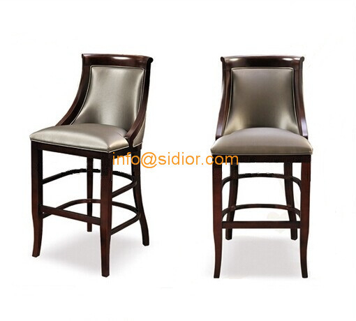 CL-4402 Luxury club bar furniture solid wood bar chair wooden bar stool high bar chair  sc 1 st  Quality Solid Wood Series u0026 New Products Manufacturer & CL-4402 Luxury club bar furniture solid wood bar chair wooden ... islam-shia.org