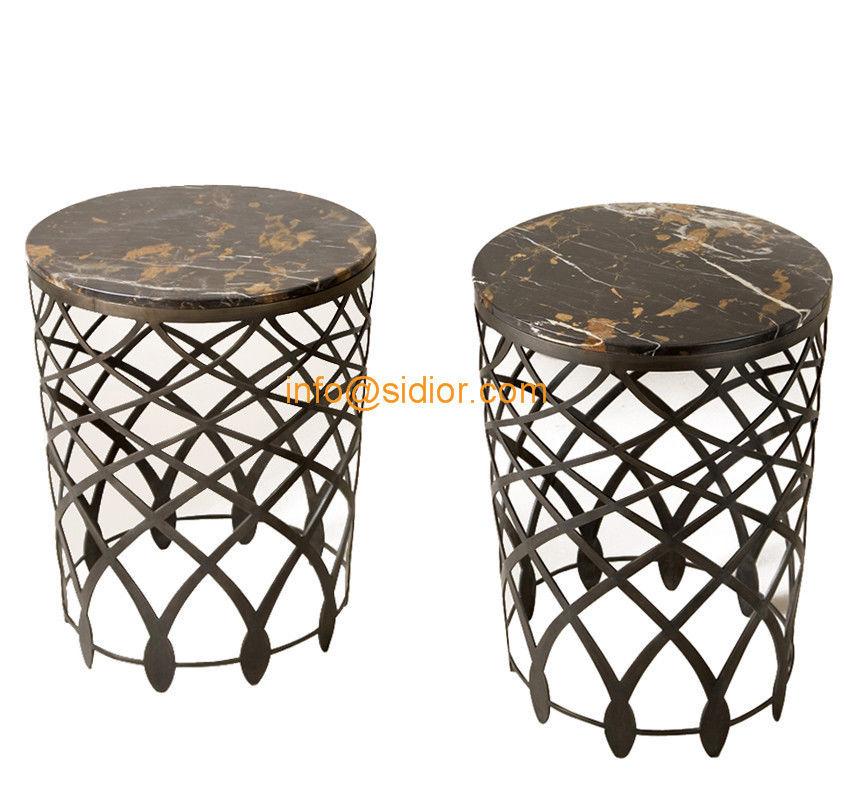 CL 5506 Luxury Tea Table, Hotel Furniture, Center Table, Side Table, Marble  Coffee Table