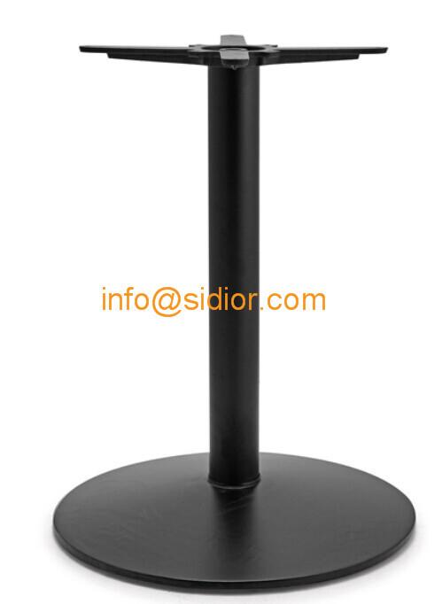 black metal table base powder coated dining table leg  : pl1678066 blackmetaltablebasepowdercoateddiningtablelegdiecastingirontablelegssd705 from www.sidior.com size 499 x 682 jpeg 20kB