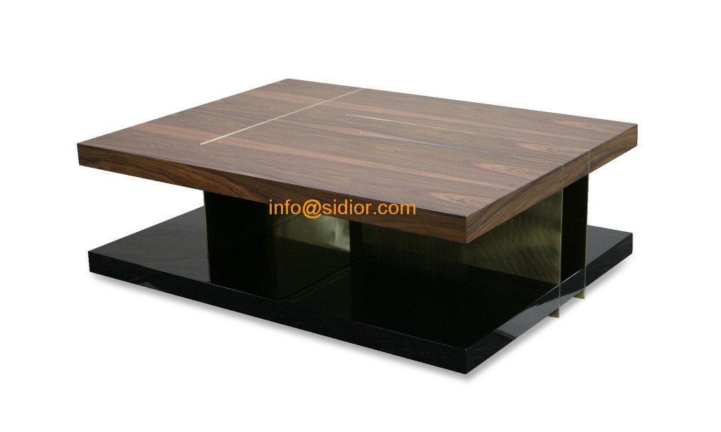 Cl 5529 luxury hotel furniture tea table center table for Wooden center table design