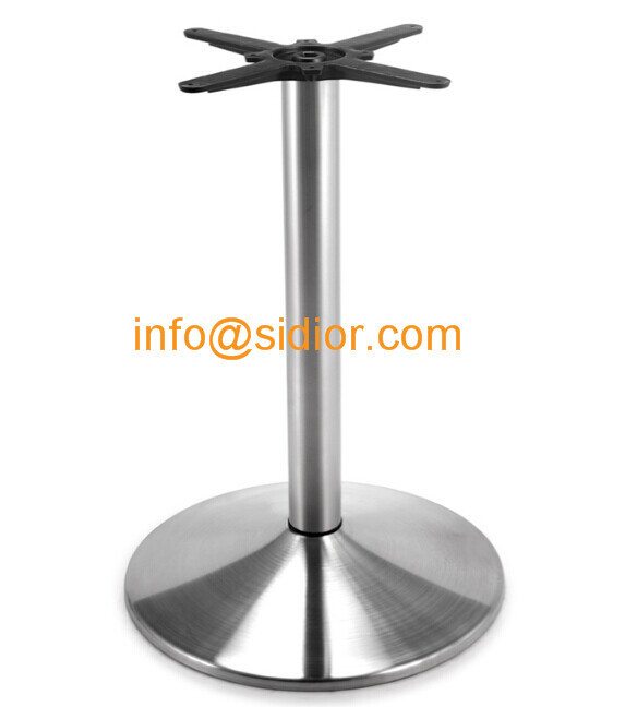 Stainless Steel Table Base. Round Dining Table Leg, Desk Furniture Legs  SD 737