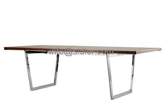 wooden dining table,visitor desk, reception desk, meeting table, S.steel table SD-3003