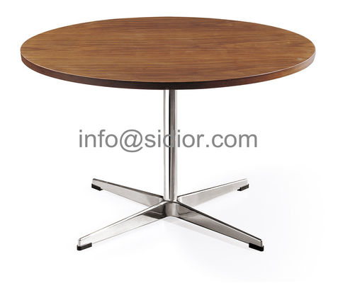 wooden dining table,visitor desk, reception desk, meeting table, S.steel table SD-3006