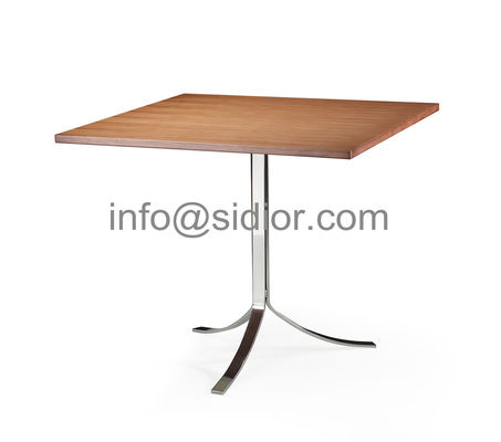 wooden dining table,visitor desk, reception desk, meeting table, S.steel table SD-3007
