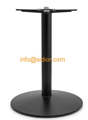 black metal table base. powder coated dining table leg, Die casting iron table legs SD-705