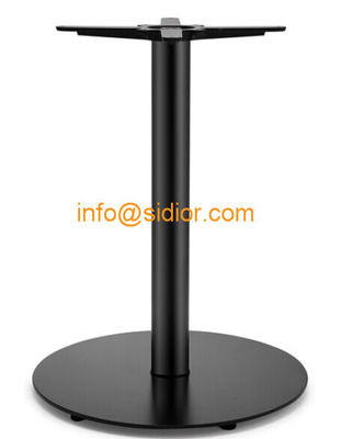 black metal table base. powder coated dining table leg, Die casting iron table legs SD-716