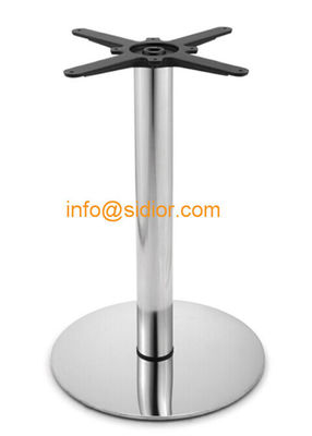 stainless steel table base. round dining table leg, desk furniture legs SD-730