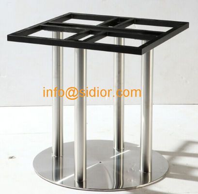 stainless steel table base. round dining table leg, desk furniture legs SD-732