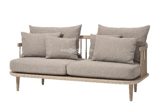 fabric sofa,visitor sofa, reception sofa, lobby sofa, living room sofa, armchair SD-6005-2