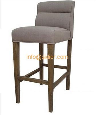 SD-1011B Modern club bar furniture, solid wood bar chair, wooden bar stool, high bar chair