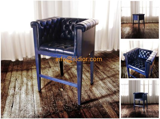 CL-4401 luxury club bar furniture, solid wood bar chair, wooden bar stool, high bar chair
