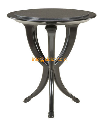 CL-5512S luxury hotel furniture, tea table, center table, side table, wooden coffee table