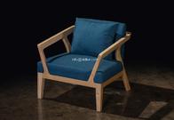 SL-8602 hotel furniture Home living room sofa set Solid wood sofa Morden ash wood sofa